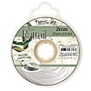 Rattail Cord 2mm 20 Yds With Re-useable Bobbin White